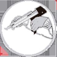 A pistola cartucho